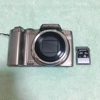 オリンパス(OLYMPUS)のオリンパスデジカメ SZ-30MR silver(デジタル一眼)