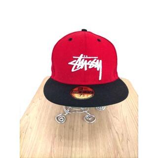 ステューシー(STUSSY)のStussy(ステューシー) ロゴ刺繍6パネルキャップ メンズ 帽子 キャップ(キャップ)