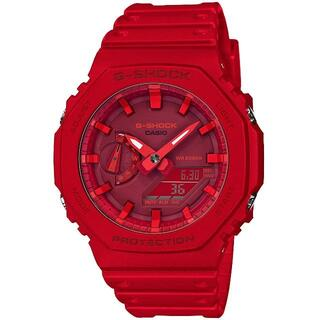 カシオ(CASIO)のカシオ G-SHOCK カジュアルデザイン 腕時計 レッドアウト(腕時計(アナログ))