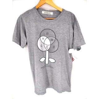 アンリアレイジ(ANREALAGE)のANREALAGE(アンリアレイジ) 14AW プリントクルーネックTシャツ(Tシャツ/カットソー(半袖/袖なし))