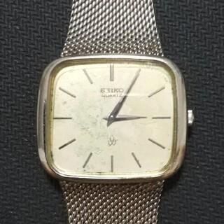 セイコー(SEIKO)の稼働品 SEIKO ヴィンテージ クォーツ 4130-5241 電池交換済(腕時計(アナログ))