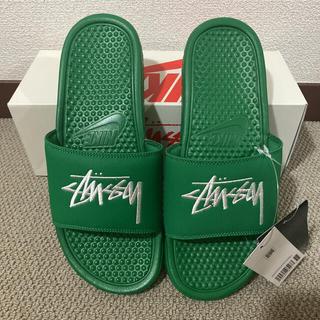 STUSSY - NIKE × Stussy BENASSI PINE GREEN 27cm 新品