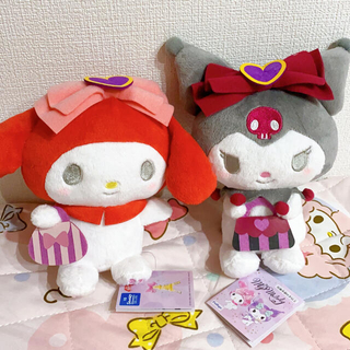 マイメロ&クロミ ぬいぐるみセット(ぬいぐるみ)