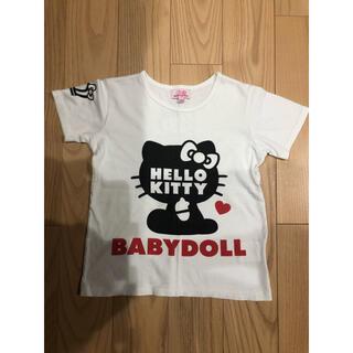 BABYDOLL - Tシャツbaby dollサイズ120ハローキティ