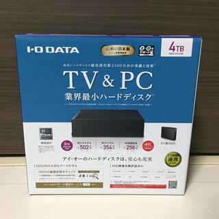 アイオーデータ(IODATA)のI/Oデータ 外付けハードディスク 4TB HDCZ-UTL4KB(PC周辺機器)