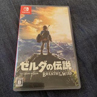 ニンテンドースイッチ(Nintendo Switch)の 「ゼルダの伝説 ブレス オブ ザ ワイルド Switch」(家庭用ゲームソフト)