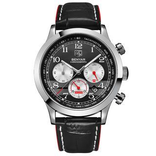 BENYAR BY-5107 メンズミリタリースポーツジャパンクォーツ腕時計(腕時計(アナログ))