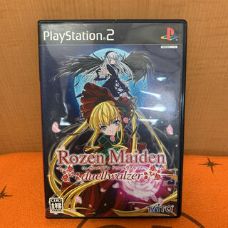 プレイステーション2(PlayStation2)のPS2 / ローゼンメイデン ドゥエルヴァルツァ(家庭用ゲームソフト)