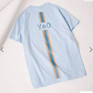 EDIFICE - 新品未使用タグ付 YOUNG & OLSEN 別注 Tシャツ L ブルーA