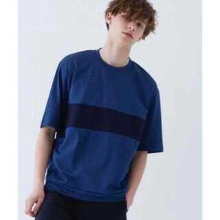 ステュディオス(STUDIOUS)のSTUDIOUS HIGH エアーポンチパネルTシャツ(Tシャツ/カットソー(半袖/袖なし))