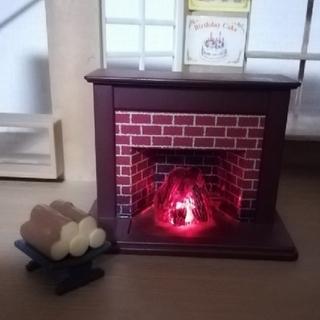 エポック(EPOCH)のシルバニア 暖炉 薪(その他)