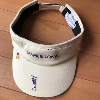 MARK&LONA - MARK&LONA サンバイザー