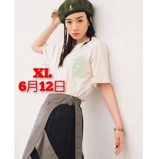 シー(SEA)のS_E_A (S-DYE) T-SHIRT / ECRU-MINT(Tシャツ/カットソー(半袖/袖なし))