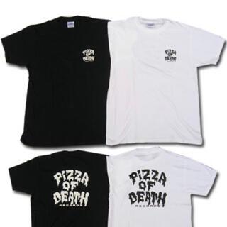 pizza of death Tシャツ ホワイト(Tシャツ/カットソー(半袖/袖なし))