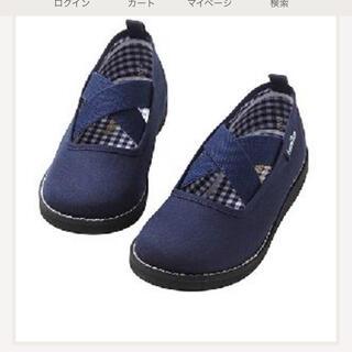 ファミリア(familiar)のファミリア 紺色 お洒落な靴(フォーマルシューズ)