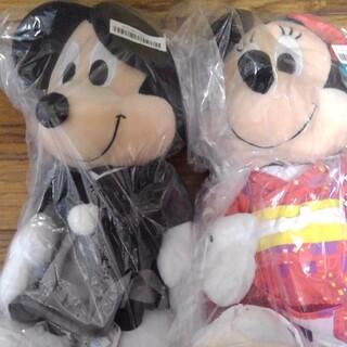 ミッキー&ミニー ぬいぐるみ 着物ver.(ぬいぐるみ)