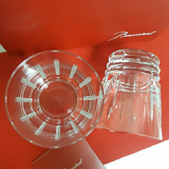 Baccarat(バカラ)のバカラ アルルカンC タンブラー ペア グラス インテリア/住まい/日用品のキッチン/食器(食器)の商品写真