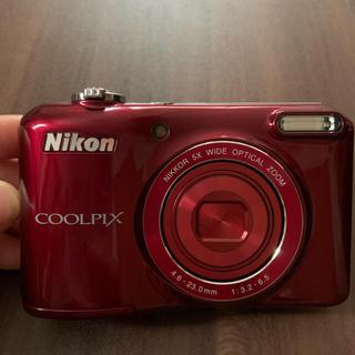 Nikon - Nikon COOLPIX L28 RED