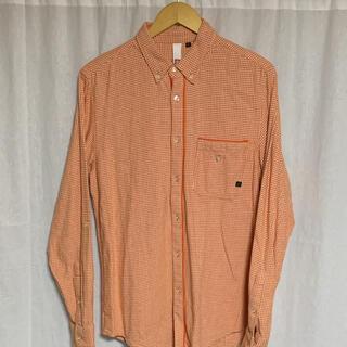 エレメント(ELEMENT)のエレメント 千鳥格子柄ボタンダウンシャツ c-211g(シャツ)