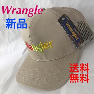 ラングラー(Wrangler)の❤️人気のWrangleメッシュキャップ‼️フロント刺繍(キャップ)