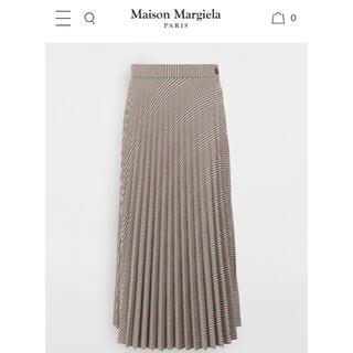 エムエムシックス(MM6)の19AW MM6 Maison Margiela プリーツミディスカート(ロングスカート)