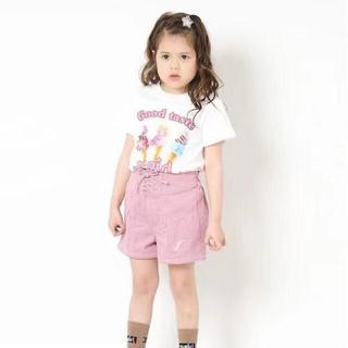 エックスガール(X-girl)のxgirlTシャツ 130 白(Tシャツ/カットソー)