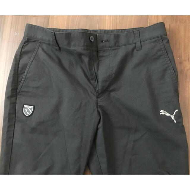 PUMA(プーマ)のLサイズ W82 ブラック スポーツ/アウトドアのゴルフ(ウエア)の商品写真