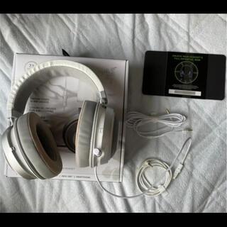 レイザー(LAZER)のRazer Kraken Mercury White ゲーミングヘッドセット(ヘッドフォン/イヤフォン)