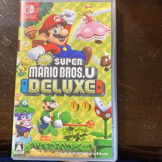 Nintendo Switch - New スーパーマリオブラザーズ U デラックス Switch