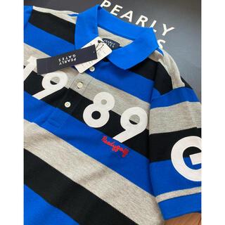 PEARLY GATES - 新品 パーリーゲイツ アイスコットン カノコ ボーダー半袖ポロシャツ L(5)