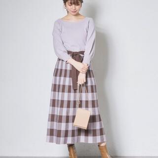 ナチュラルクチュール(natural couture)のニットワンピ(ロングワンピース/マキシワンピース)
