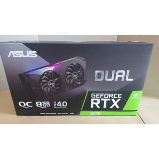 ASUS - 新品未使用 ASUS DUAL-RTX3070-O8G