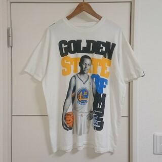 ステフィン・カリー Tシャツ NBA ウォリアーズ 古着 ビッグプリント バスケ