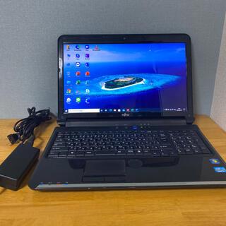 フジツウ(富士通)の(美品)Fujitsuノートパソコンi5(ノートPC)