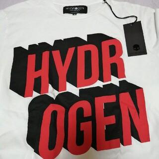 ハイドロゲン(HYDROGEN)のHYDROGEN Tシャツ メンズM WHITE(Tシャツ/カットソー(半袖/袖なし))