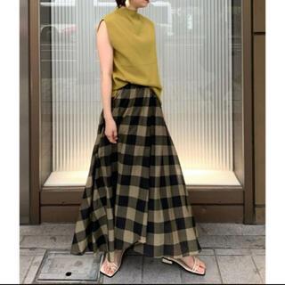 Mila Owen - 新品☆完売☆ミラオーウェン 巻き風シアーテールフレアスカート 1
