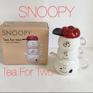 SNOOPY - 新品未使用 SNOOPY Tea For Two ティーセット