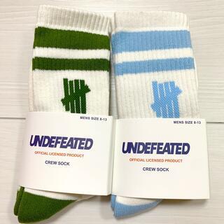 UNDEFEATED - アンディフィーテッド 靴下 ソックス