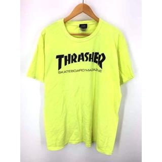 スラッシャー(THRASHER)のTHRASHER(スラッシャー) 後染め ロゴプリントTシャツ メンズ トップス(Tシャツ/カットソー(半袖/袖なし))