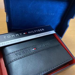 TOMMY HILFIGER - 【正規品】【新品】トミーヒルフィガー 財布 ブラック
