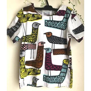 ミナペルホネン(mina perhonen)のレア!! ミナペルホネン mingling ミングリング Tシャツ 38(Tシャツ(半袖/袖なし))