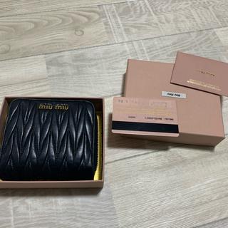 miumiu - miumiu 折り財布 ✨美品✨