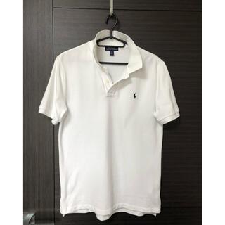 POLO RALPH LAUREN - ラルフローレン ポロシャツ白 160 男子