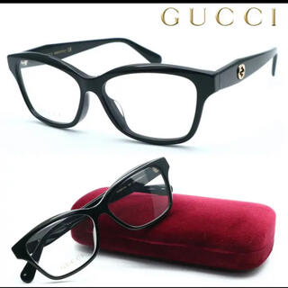 グッチ(Gucci)のGUCCIメガネ gg0801oa(サングラス/メガネ)