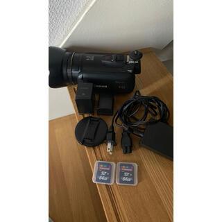 キヤノン(Canon)のCanon iVIS HF g10 大容量バッテリー付き(ビデオカメラ)