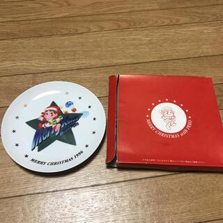 フジヤ(不二家)のペコちゃんのお皿 1996(ノベルティグッズ)