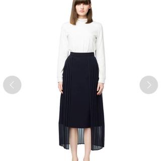 エンフォルド(ENFOLD)のクラネ プリーツレイヤードスカート(ロングスカート)