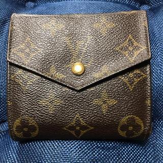 ルイヴィトン(LOUIS VUITTON)のルイヴィトン モノグラム二つ 財布折り(折り財布)