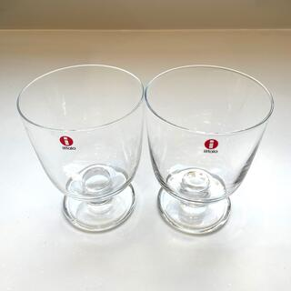 iittala - 未使用 イッタラ レンピ 2個セット グラス タンブラー