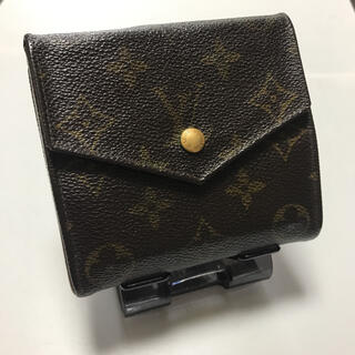 ルイヴィトン(LOUIS VUITTON)のルイビトン モノグラム折財布ポルトモネ(折り財布)